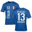 Kinder Fan-Shirt - ITALIA -