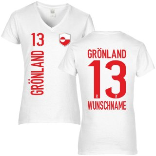 Damen Fan-Shirt - GRÖNLAND -