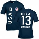 Herren Fan-Shirt - USA -