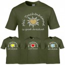 T-Shirt - Mei Trachtnhemad...- army