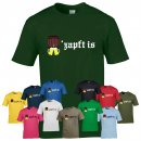 T-Shirt - O ZAPFT IS / Bierfass -