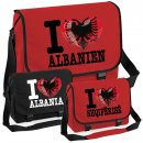 Messenger Bag - I LOVE ALBANIEN