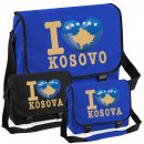 Messenger Bag - I LOVE KOSOVO