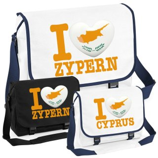Messenger Bag - I LOVE ZYPERN