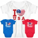 Baby Body - I LOVE USA -
