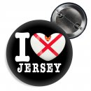 Button - I LOVE JERSEY -
