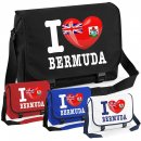Messenger Bag - I LOVE BERMUDA