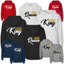 Partner-Hoodies KING & QUEEN mit Krone