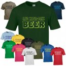 T-Shirt - SAVE WATER DRINK BEER -