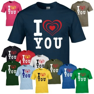 T-Shirt - I LOVE YOU -