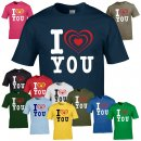 T-Shirt - I LOVE YOU