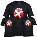 Kinder T-Shirt - BALL DÄNEMARK -