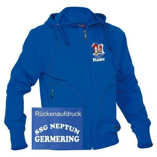 Kinder Sweat-Jacke SSG Neptun Germering