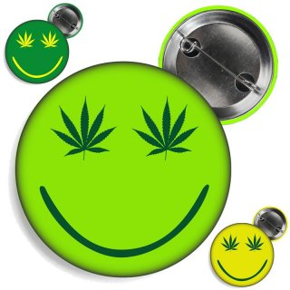 Button Happy Weed