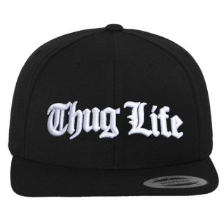MISTER TEE - Thug Life Old English - Snapback Cap