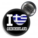 Button - I LOVE GRIECHENLAND -