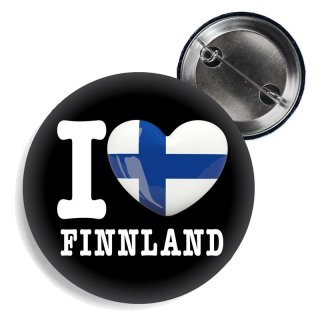Button - I LOVE FINNLAND -