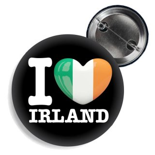 Button - I LOVE IRLAND -