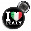 Button - I LOVE ITALY -