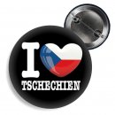 Button - I LOVE TSCHECHIEN -