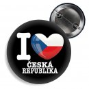 Button - I LOVE CESKÁ REPUBLIKA -