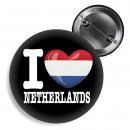 Button - I LOVE NETHERLANDS -