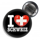Button - I LOVE SCHWEIZ -