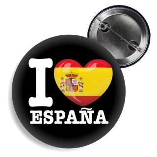 Button - I LOVE ESPAÑA -