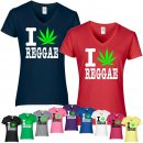 T-Shirt - I LOVE REGGAE
