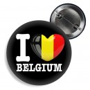 Button - I LOVE BELGIUM -